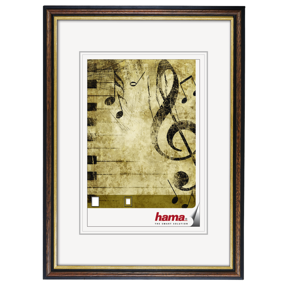 00065794 Hama Wooden Frame Idaho Brown 28 X 35 Cm Hama De