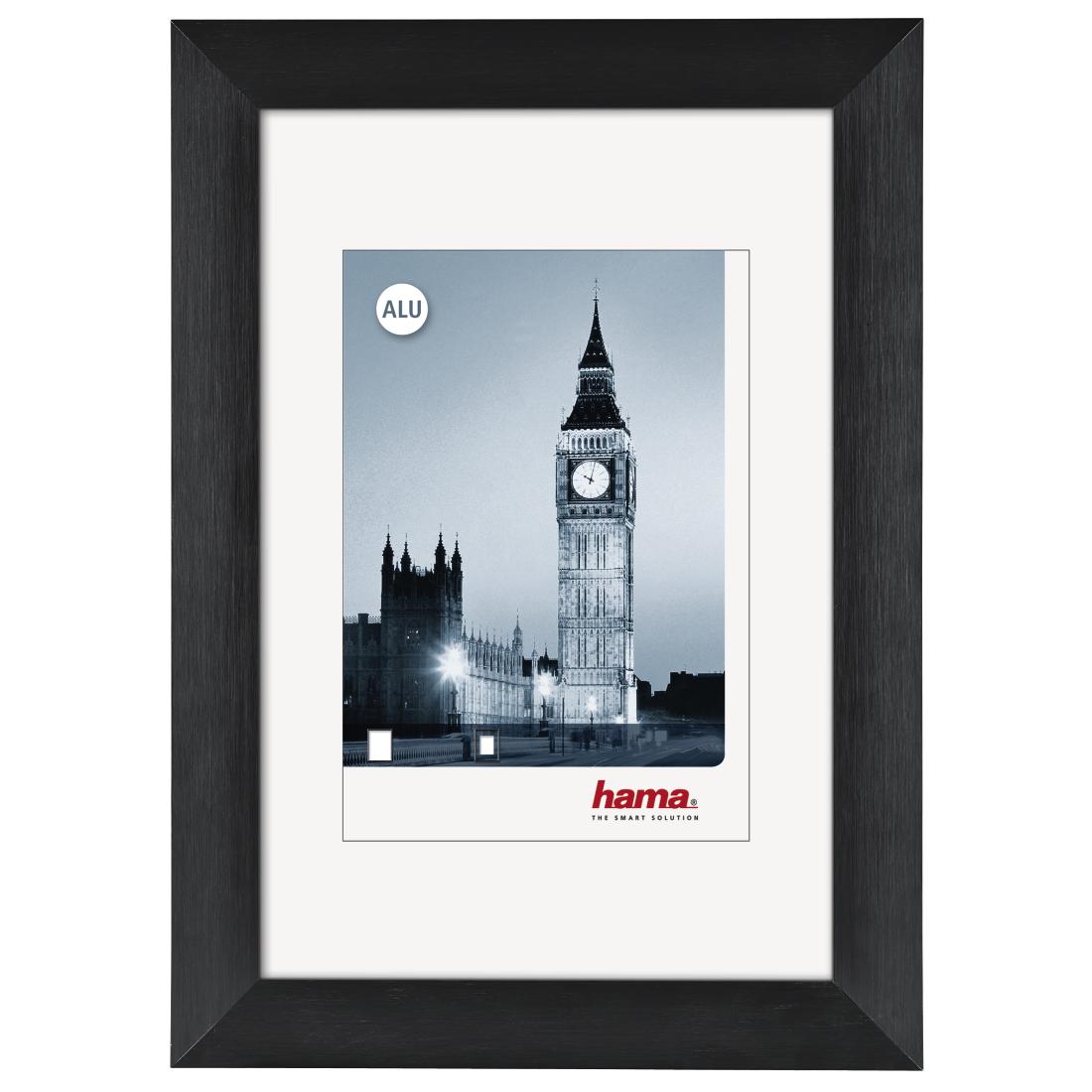 00084934 Hama London Aluminium Frame Black 30 X 40 Cm Hama De