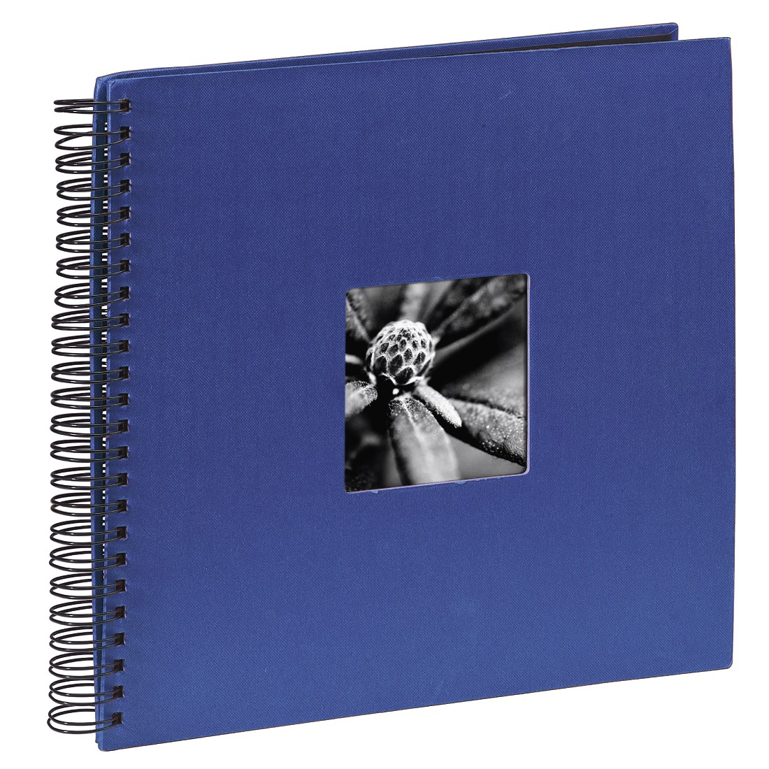 "abx High-Res Image - Hama, ""Fine Art"" Spiral Album, 36 x 32 cm, 50 Black Pages, blue"
