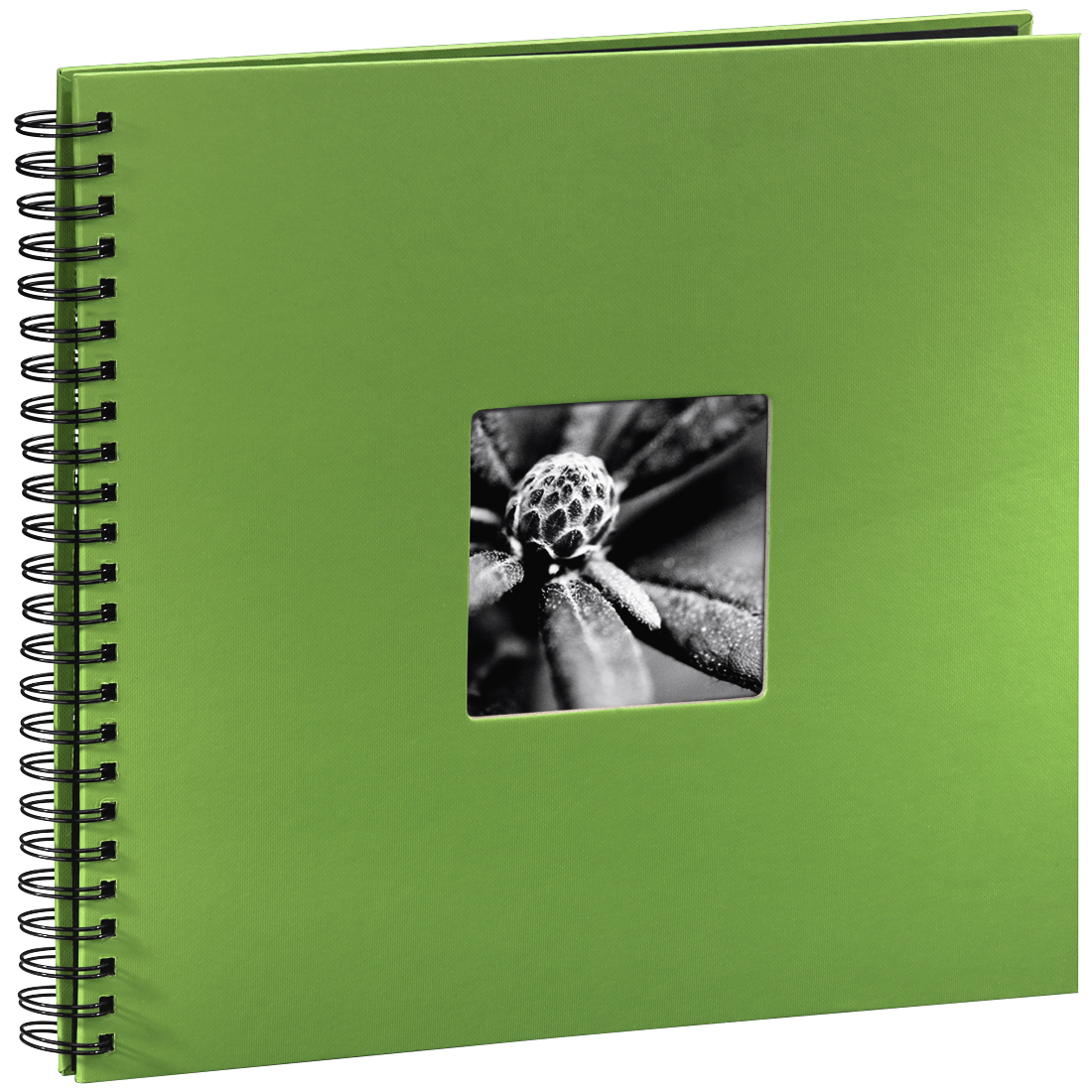 "abx High-Res Image - Hama, ""Fine Art"" Spiral Album, 36 x 32 cm, 50 Black Pages, apple green"