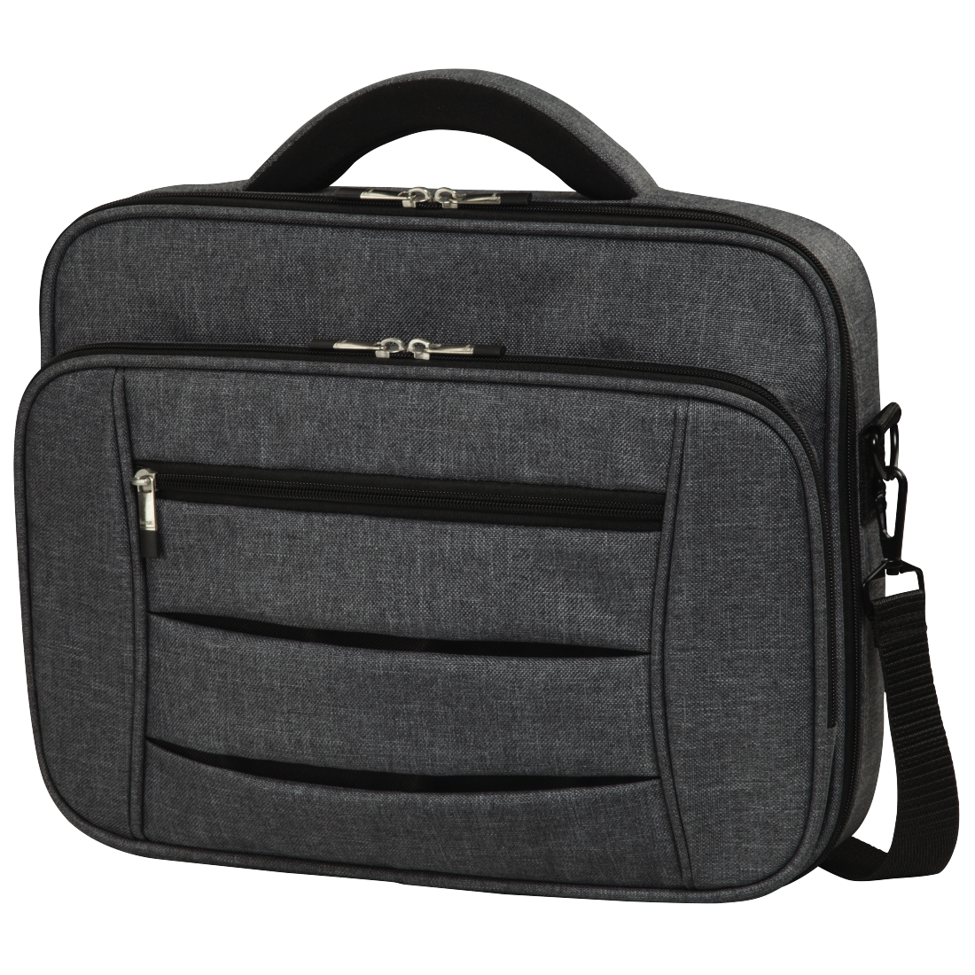"abx High-Res Image - Hama, ""Business"" Notebook Bag, up to 44 cm (17.3""), grey"