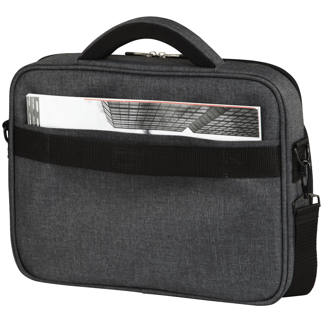 "abx4 High-Res Image4 - Hama, ""Business"" Notebook Bag, up to 44 cm (17.3""), grey"
