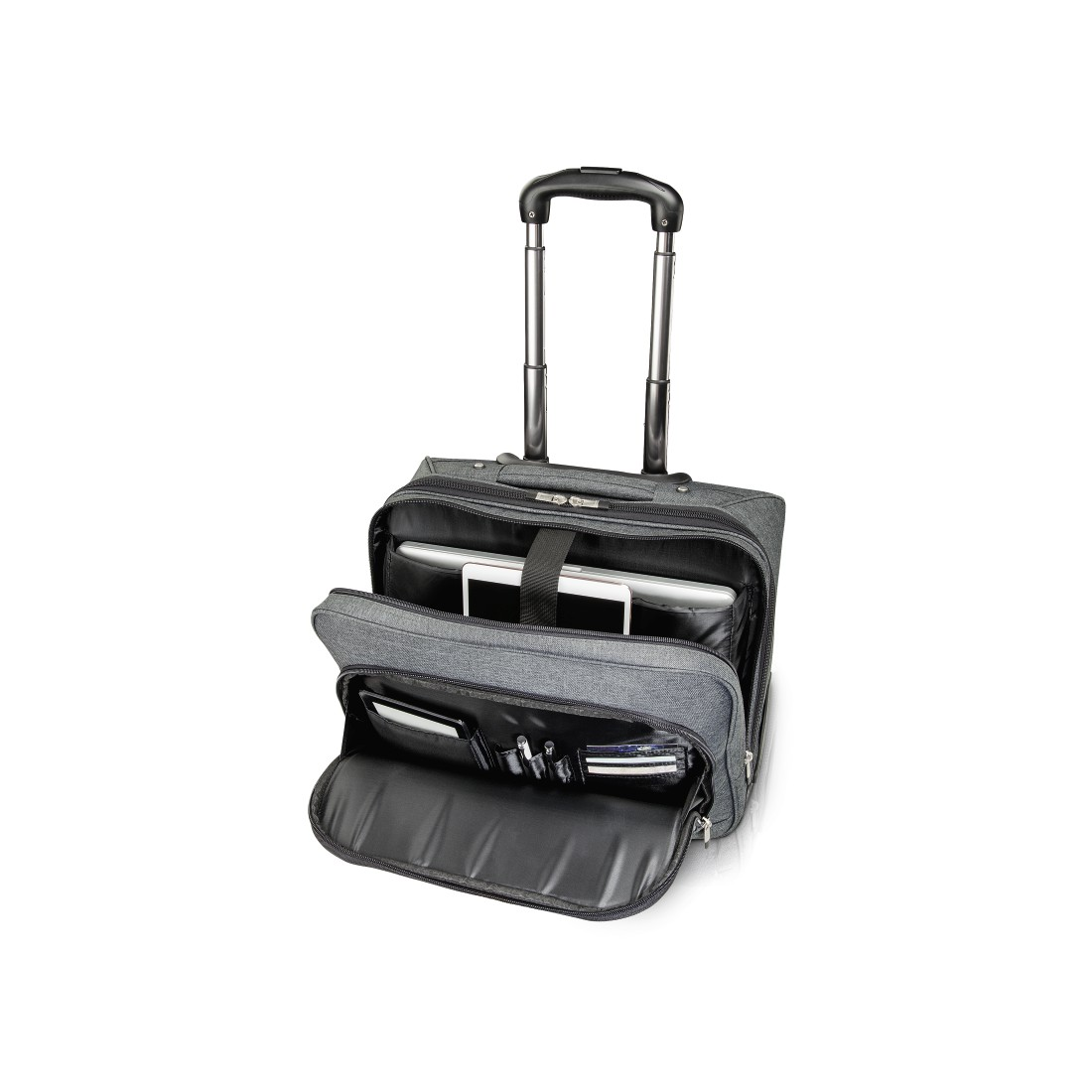 "abx2 High-Res Image 2 - Hama, ""Business"" Notebook Trolley, up to 40 cm (15.6""), grey"