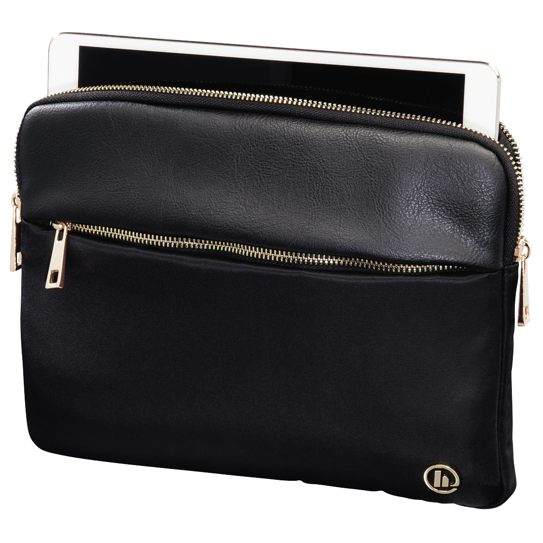 "abx2 High-Res Image 2 - Hama, ""Mission"" Tablet Sleeve, up to 25.6 cm (10.1""), gold"