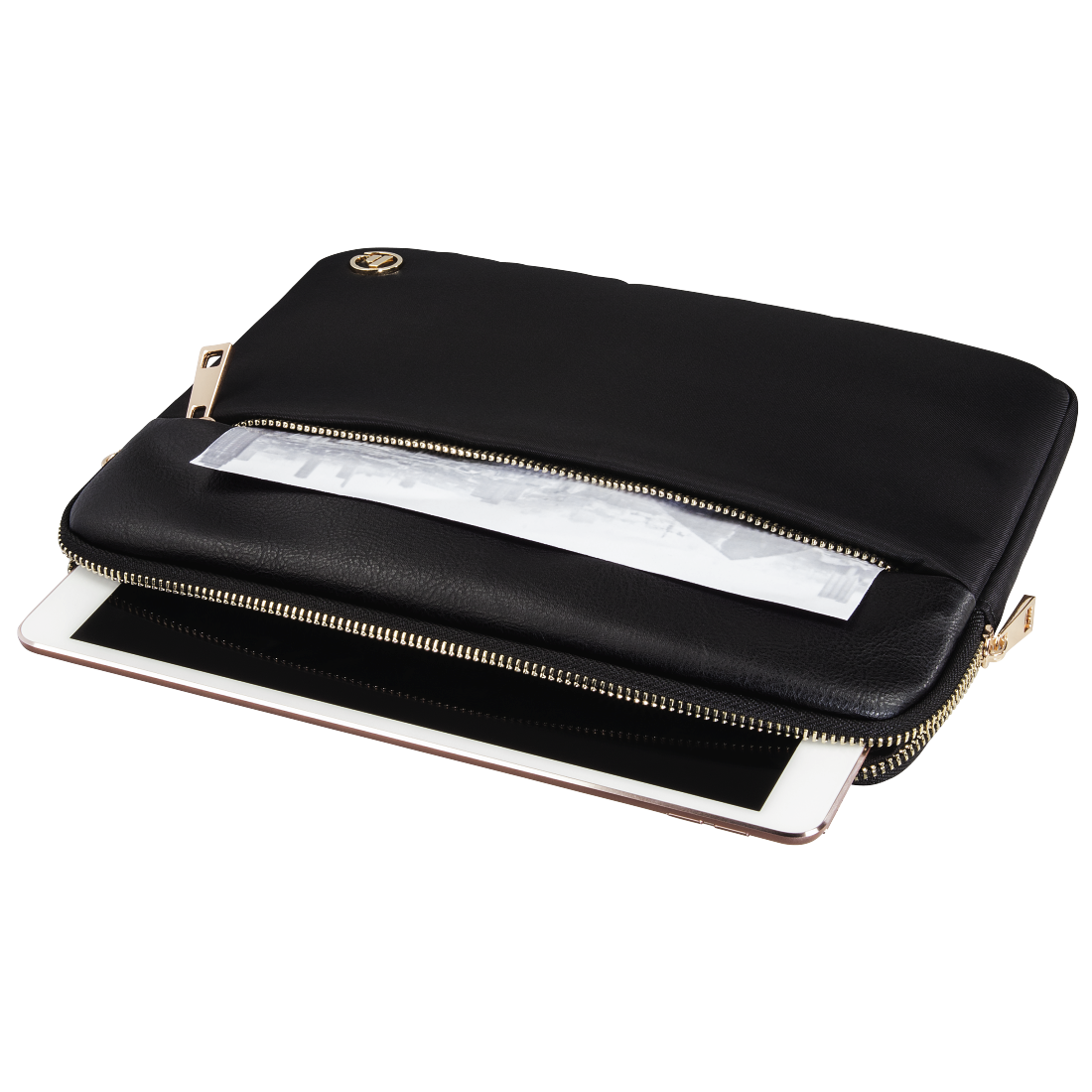 "abx4 High-Res Image4 - Hama, ""Mission"" Tablet Sleeve, up to 25.6 cm (10.1""), gold"