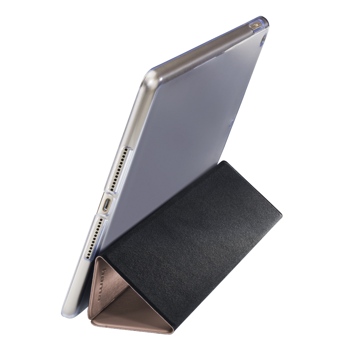 00101919 hama tablet case fold clear f r apple ipad 9 7. Black Bedroom Furniture Sets. Home Design Ideas