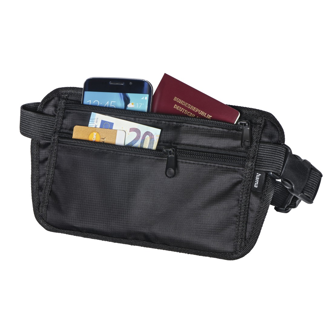 awx High-Res Appliance - Hama, Money Pouch, black