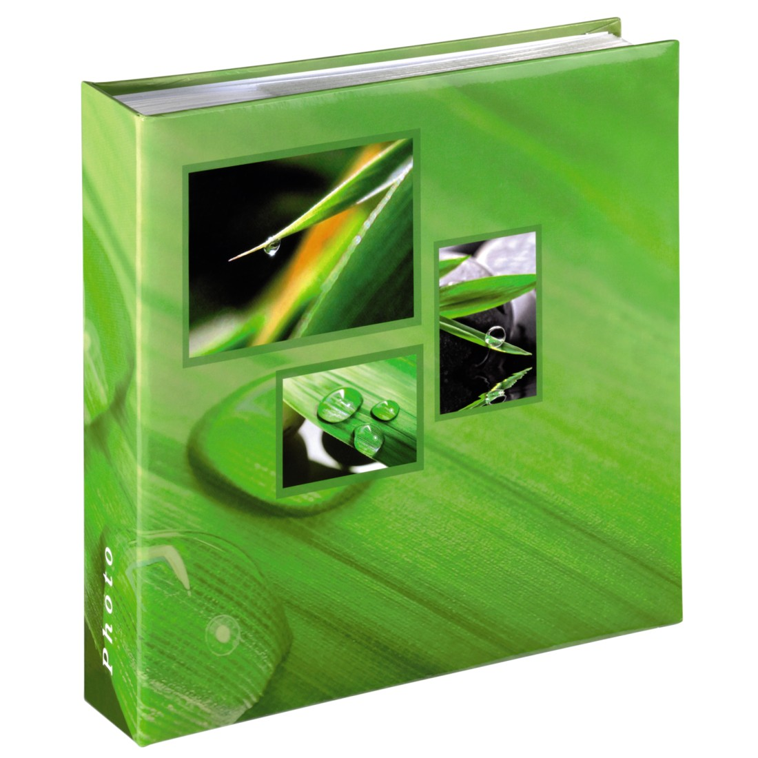 "abx High-Res Image - Hama, ""Singo"" Memo Album for 200 photos with a size of 10x15 cm, green"