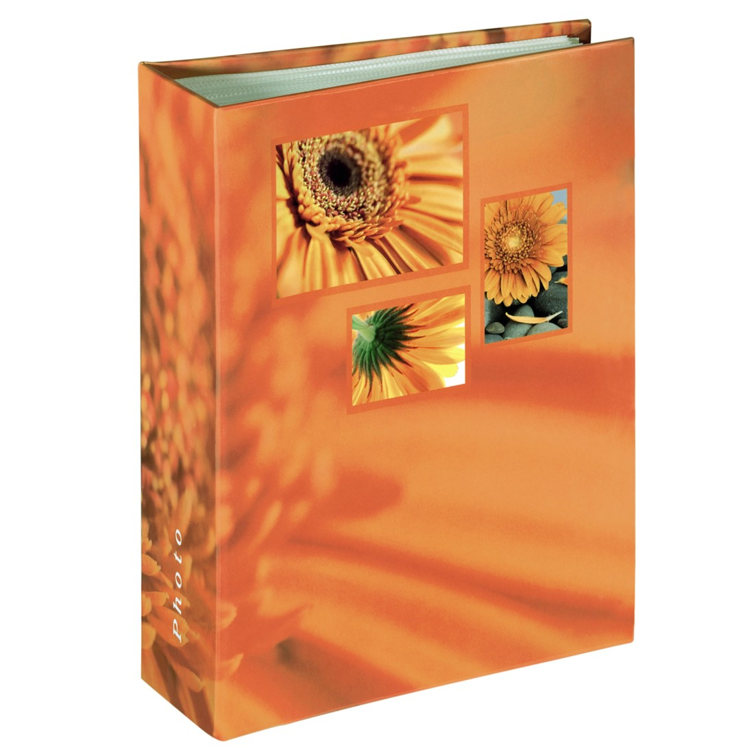 "abx High-Res Image - Hama, ""Singo"" Minimax Album for 100 photos with a size of 10x15 cm, orange"