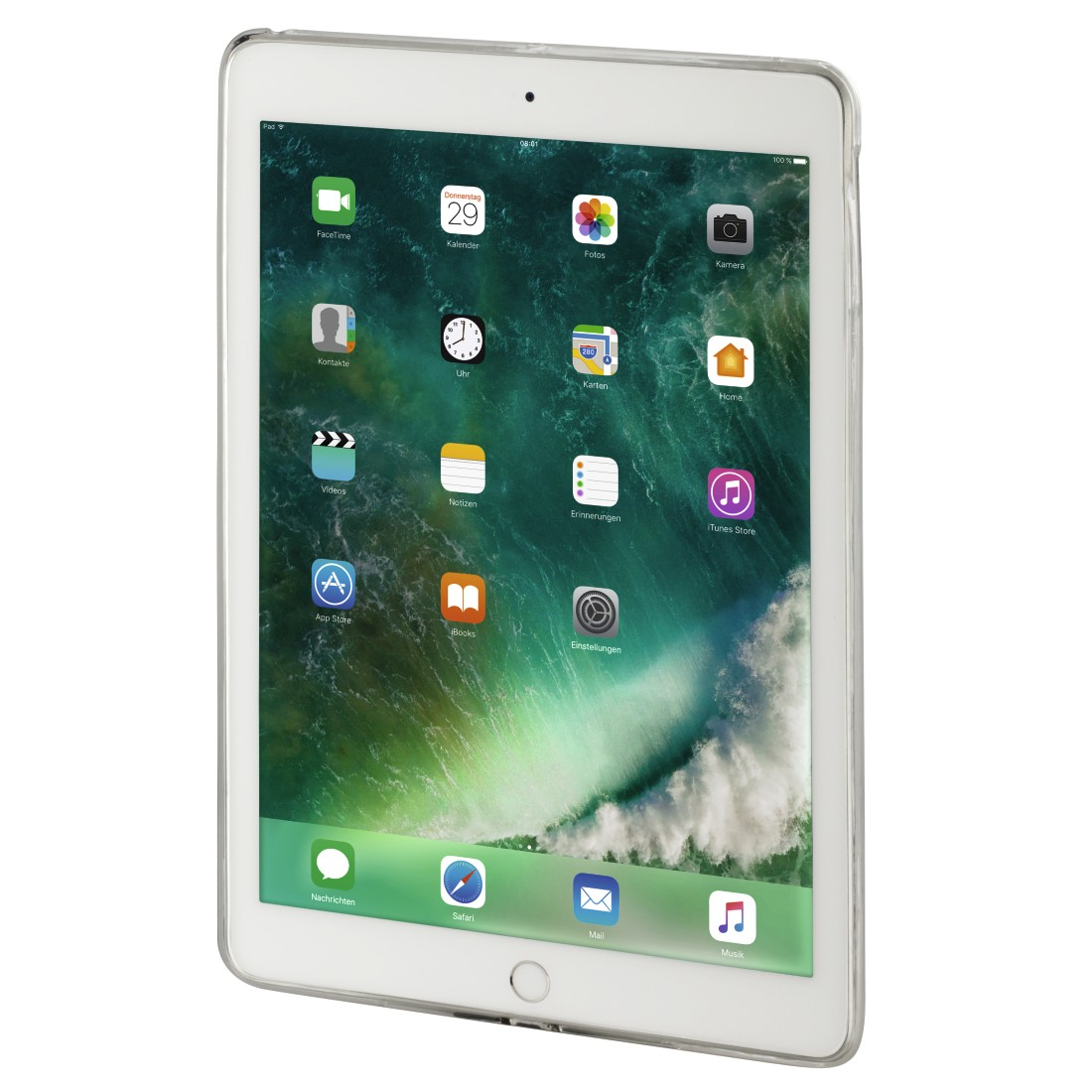 "awx High-Res Appliance - Hama, ""Gel"" Cover for Apple iPad Pro 12.9/12.9 (2017), matt-transparent"