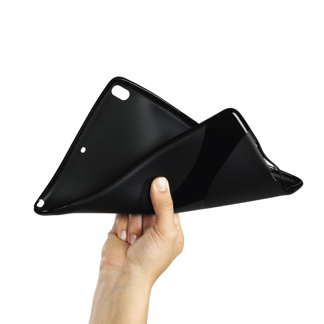 "dex2 High-Res Detail 2 - Hama, ""Gel X"" Cover for Apple iPad Pro 10.5 (2017), black"