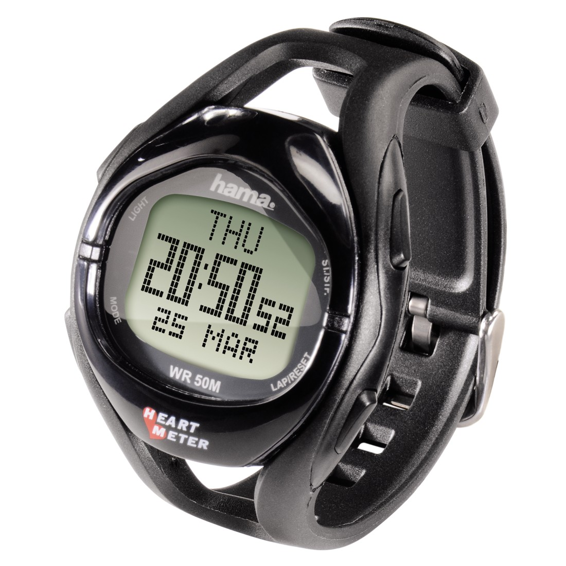 dex High-Res Detail - Hama, HRM-108 Heart Rate Monitor, black