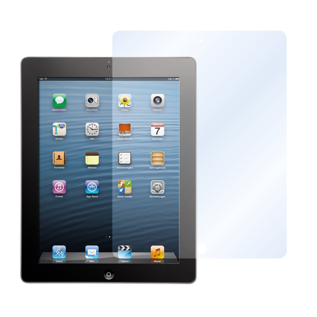 00107805 Hama Protection Foil For Apple Ipad 2 3rd 4th Generation Electronic Appliance Protector Awx2 High Res