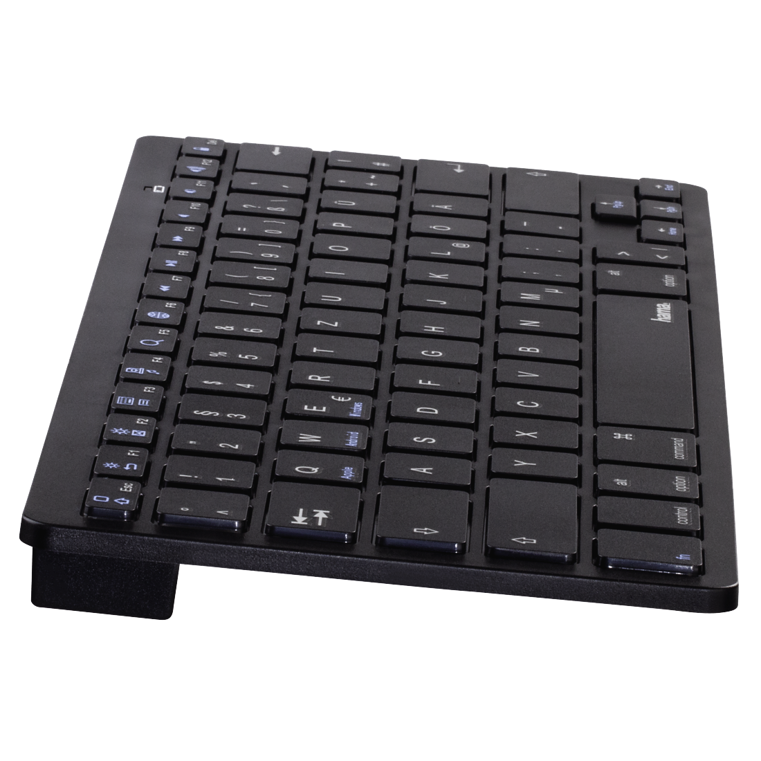"abx2 High-Res Image 2 - Hama, ""KEY4ALL X510"" Bluetooth® Keyboard, black"
