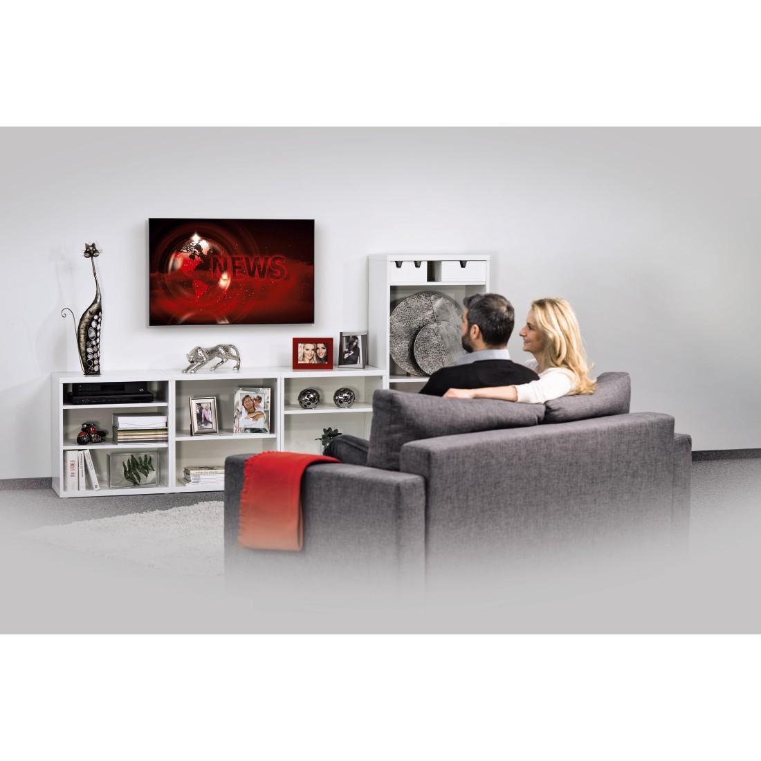00108724 Hama Tv Wandhalterung Fix Ultraslim 5 Sterne 117 Cm