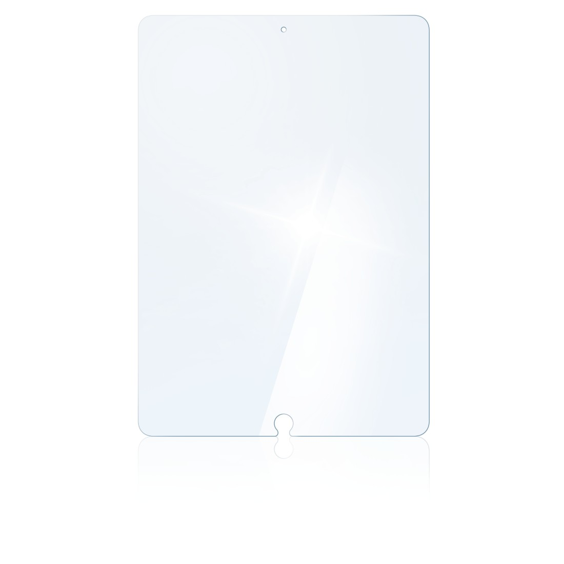 "abx2 High-Res Image 2 - Hama, ""Premium"" display protection glass for Apple iPad Air (2019)/Pro 10.5"