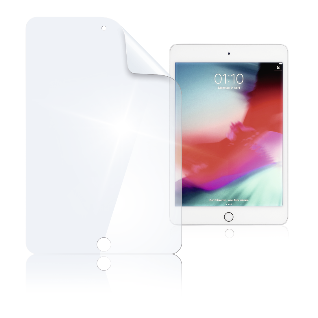 "abx High-Res Image - Hama, ""Crystal Clear"" Screen Protector for Apple iPad mini 4/iPad mini (2019)"