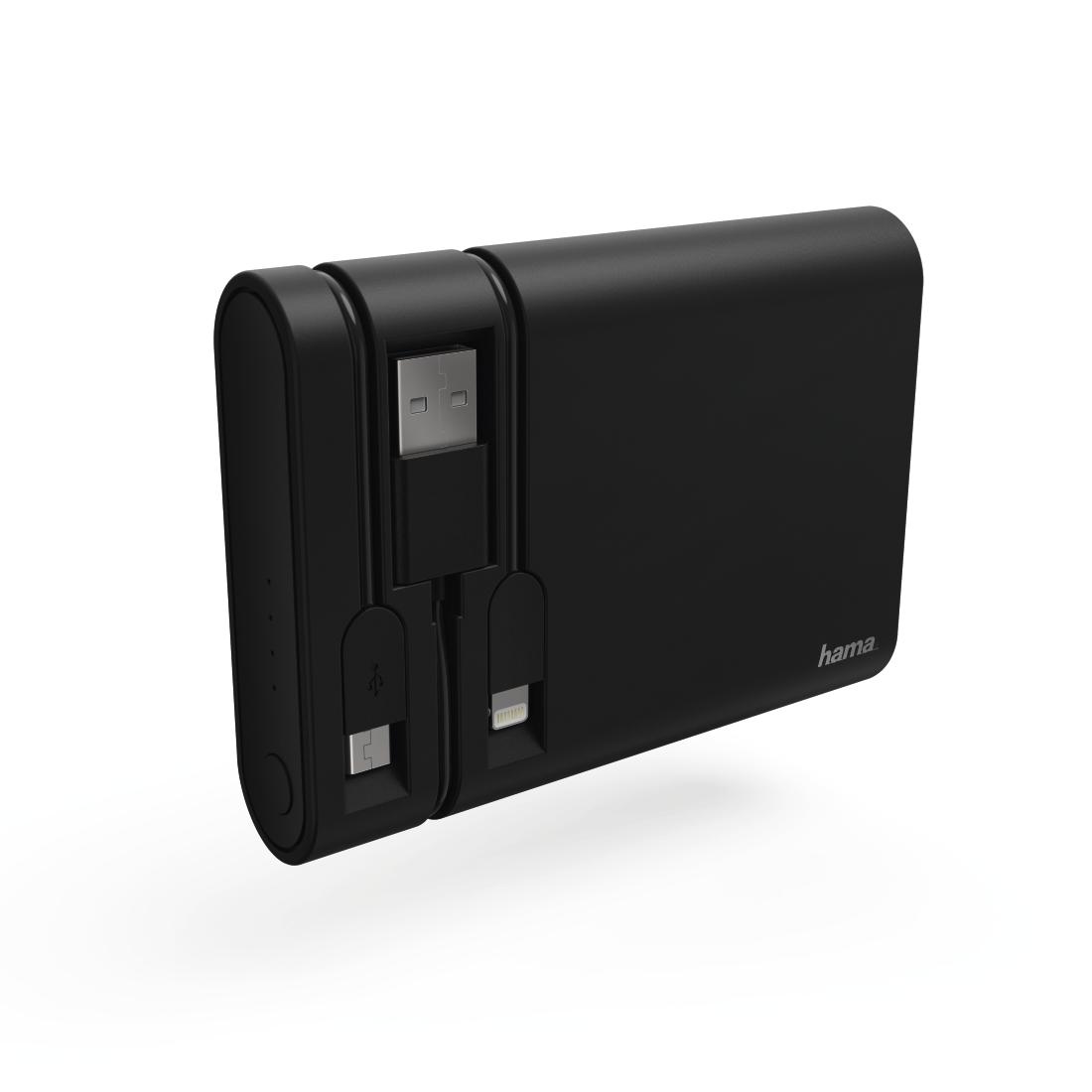 00119495 hama power pack integrierte ladekabel micro usb. Black Bedroom Furniture Sets. Home Design Ideas