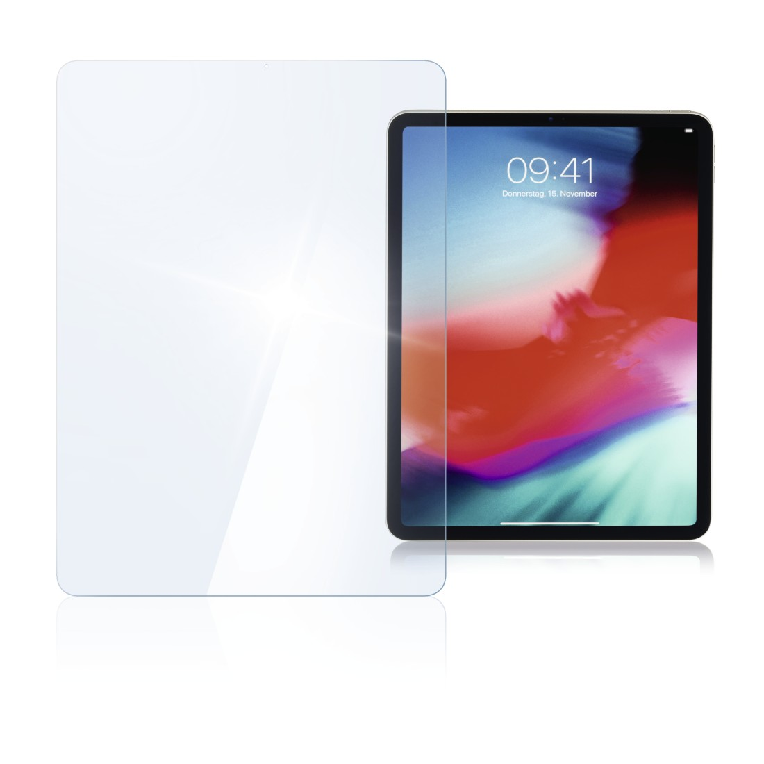 "abx High-Res Image - Hama, ""Premium"" Display Protection Glass for Apple iPad Pro 11"""