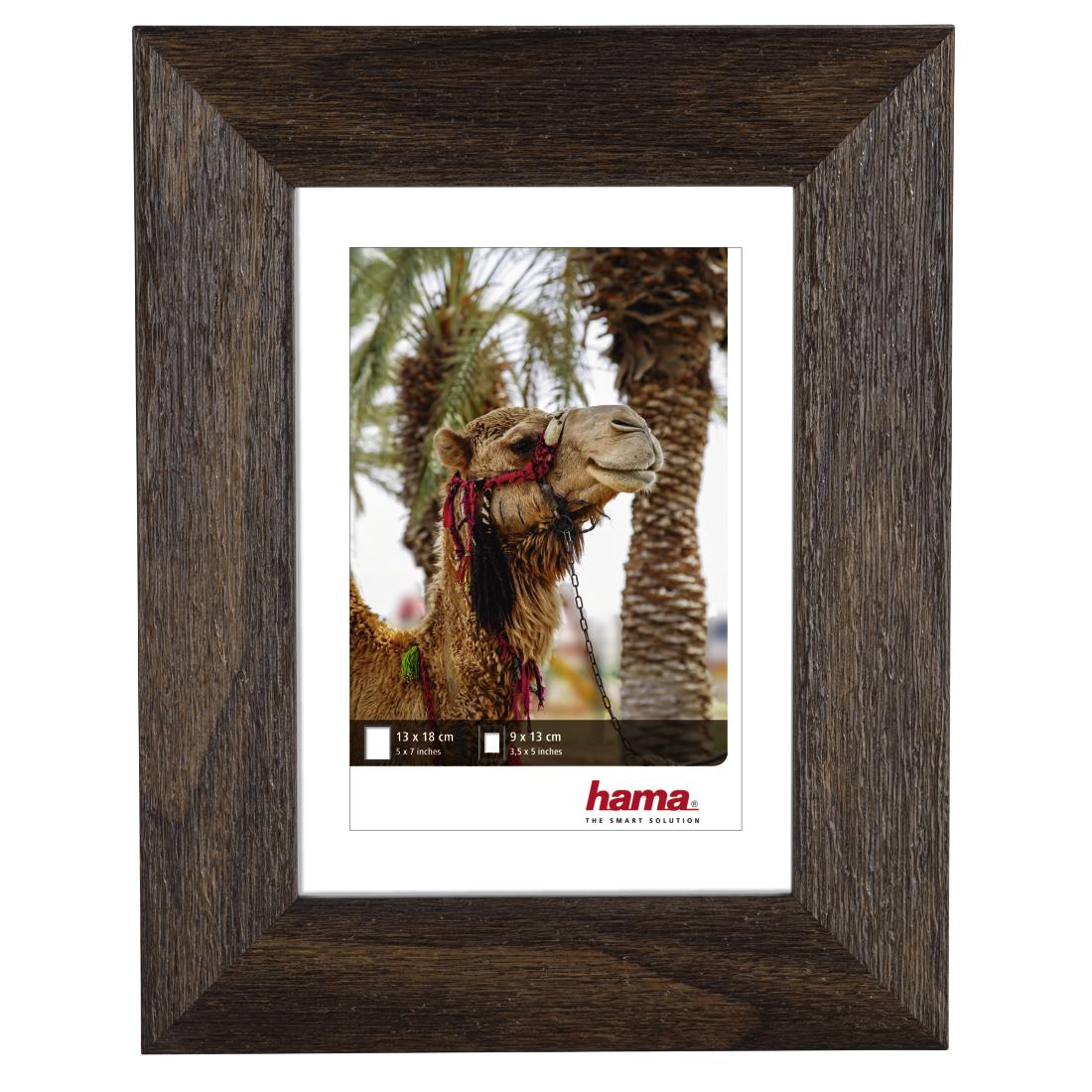 00125967 Hama Cairo Plastic Frame Nut 13 X 18 Cm Hama De