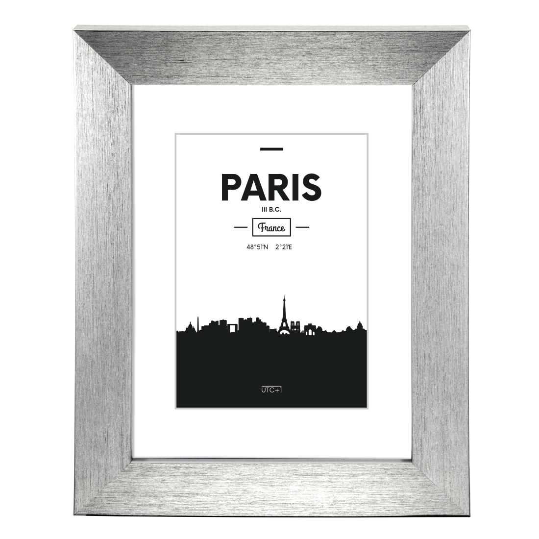 00126049 Hama Paris Plastic Frame Silver 20 X 30 Cm Hama De