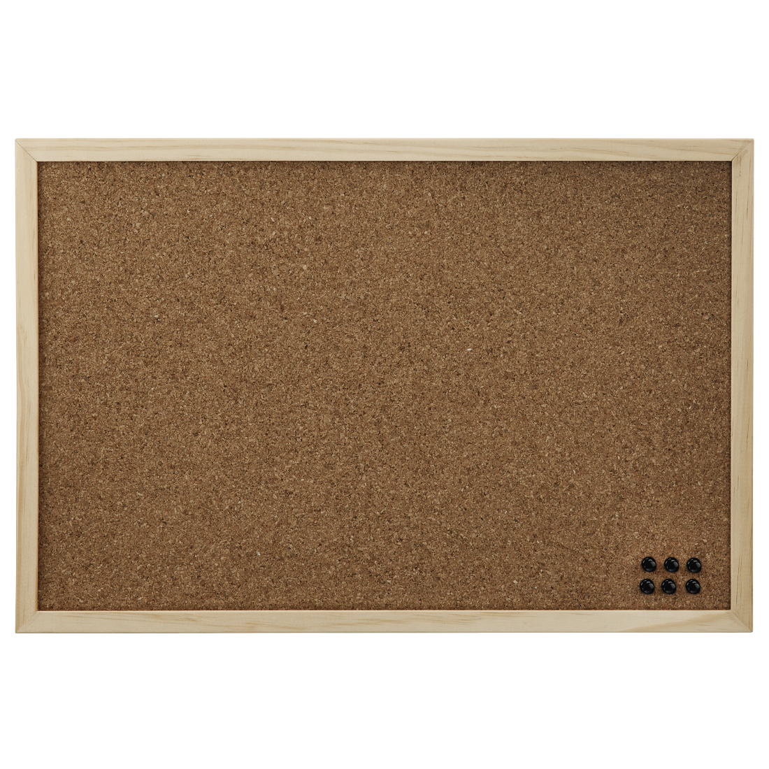 abx High-Res Image - Hama, Pin Board, 29.5 x 39.5 cm, wood, cork on both sides, nature