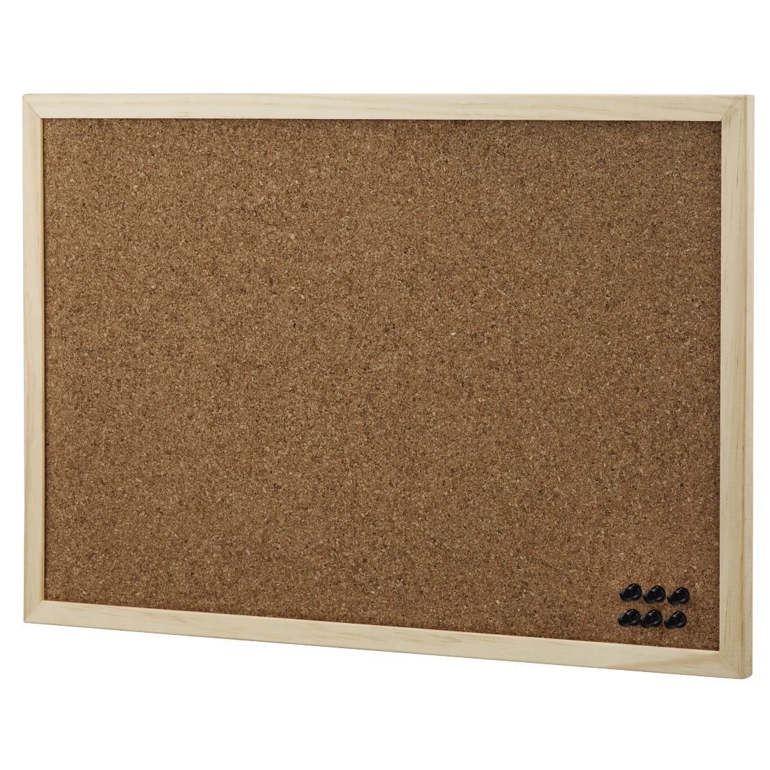 abx2 High-Res Image 2 - Hama, Pin Board, 29.5 x 39.5 cm, wood, cork on both sides, nature