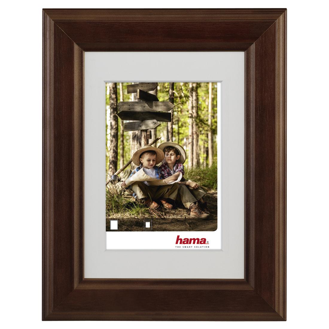 00126276 Hama Iowa Wooden Frame Nut 30 X 40 Cm Hama De