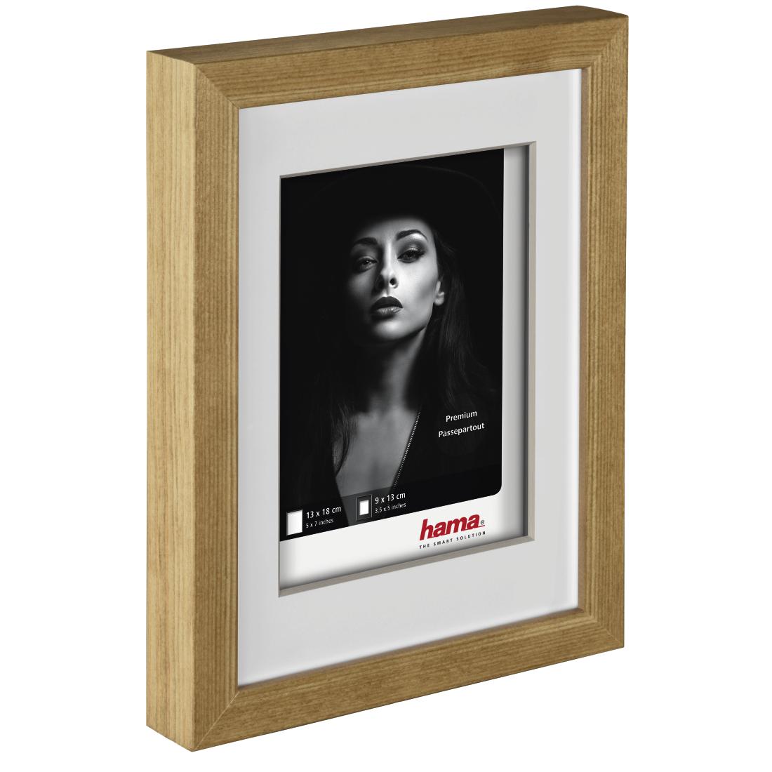 Hama De 00126295 Hama Dana Wooden Frame 3d Oak 20 X 30 Cm