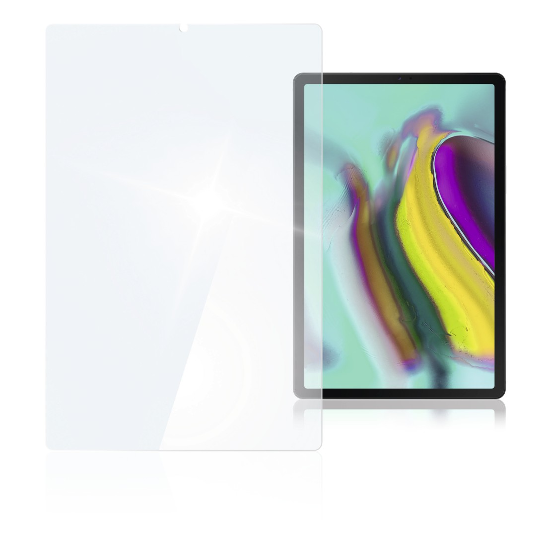 "abx High-Res Image - Hama, ""Premium"" Display Protection Glass for Samsung Galaxy Tab S6/S5e (10,5"")"