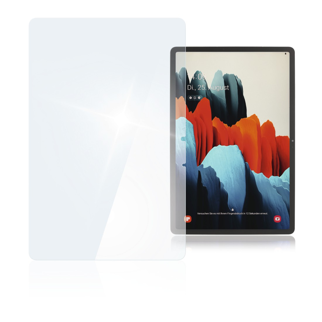 "abx High-Res Image - Hama, ""Premium"" Display Protection Glass for Samsung Galaxy Tab S7 (11"")"