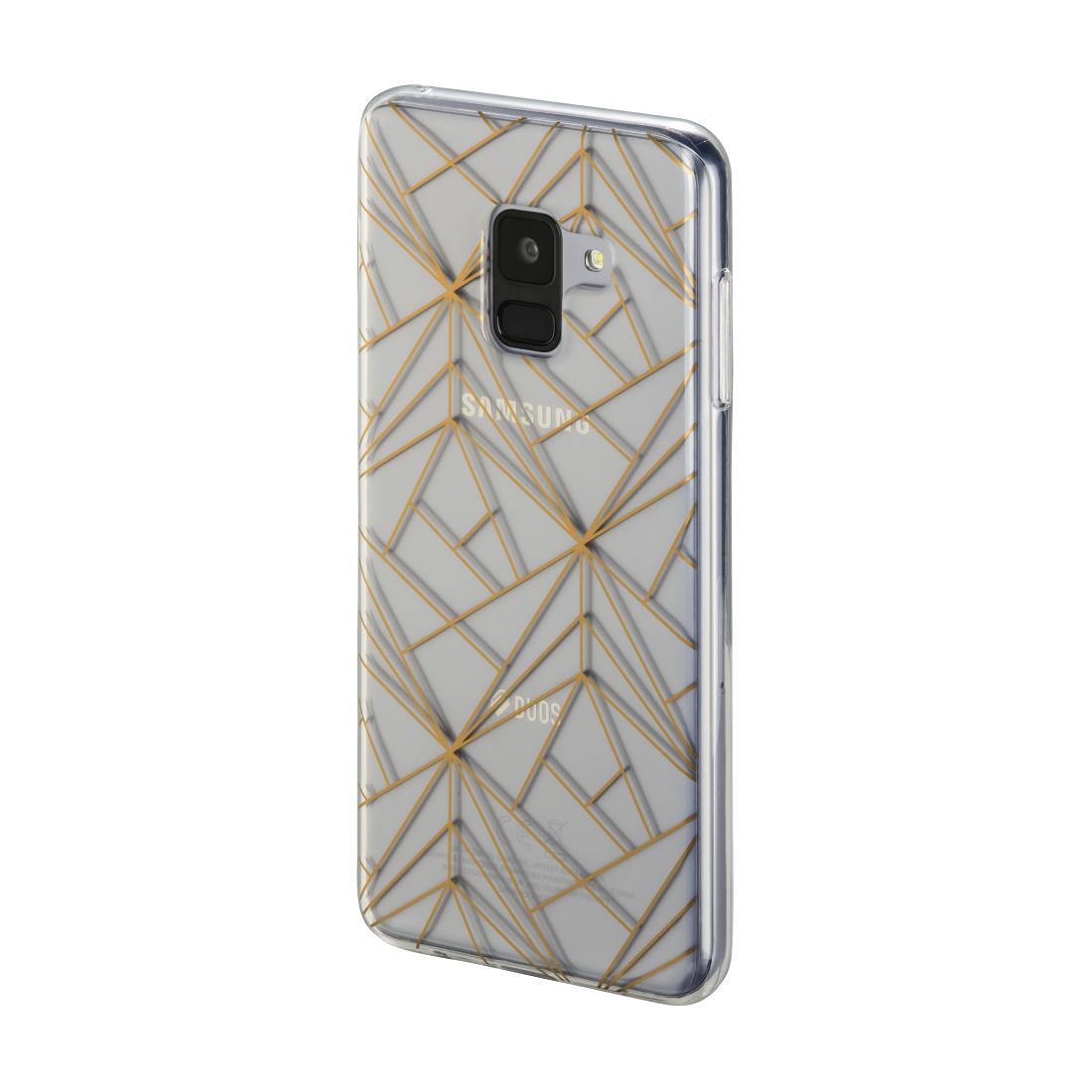 00172123 Hama Cover Golden Graphics Fur Samsung Galaxy A8 2018