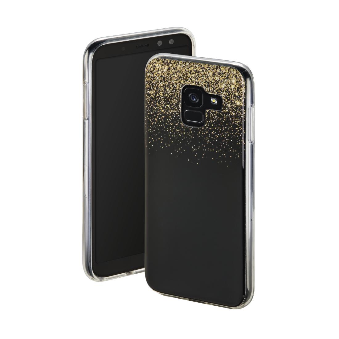 00172131 Hama Cover Golden Rain Fur Samsung Galaxy A8 2018