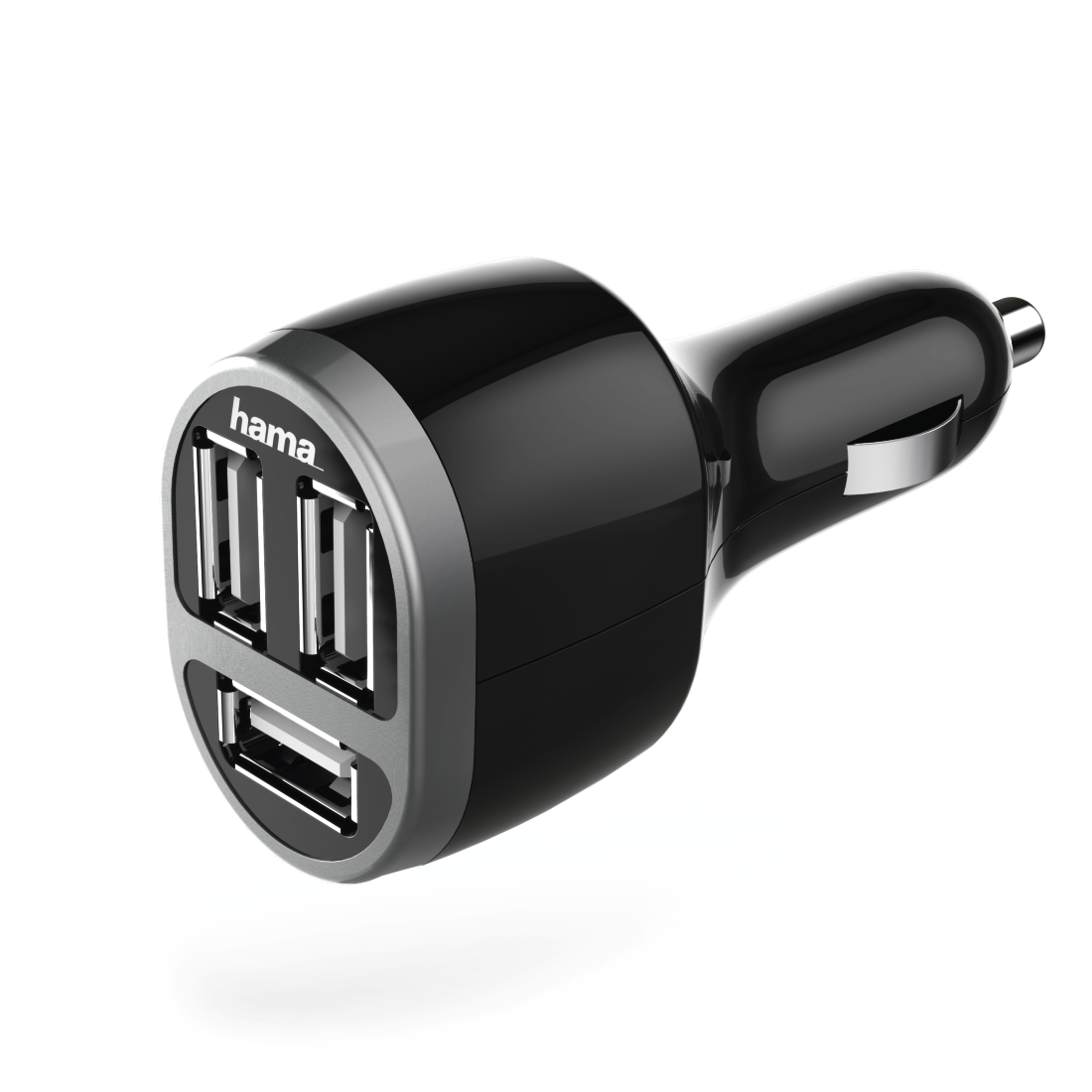 abx High-Res Image - Hama, Car Charger, 3x USB, 5.2 A, black