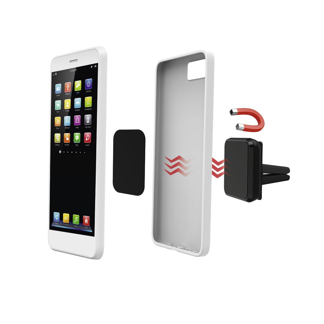 00173898 hama universal smartphone halter magnet hama de. Black Bedroom Furniture Sets. Home Design Ideas