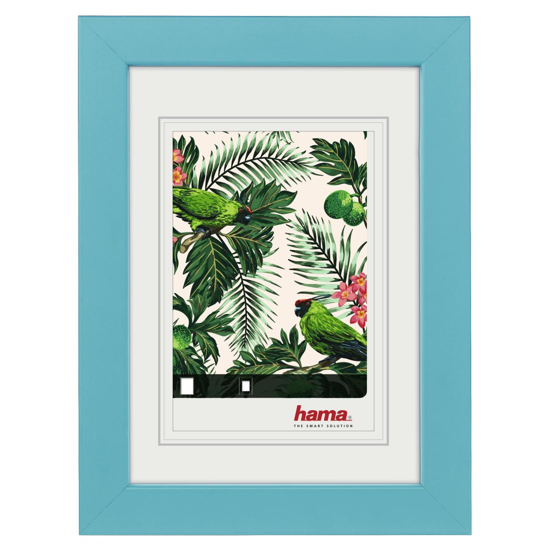 00175352 Hama Holzrahmen Tropical Türkis 10 X 15 Cm Hama De