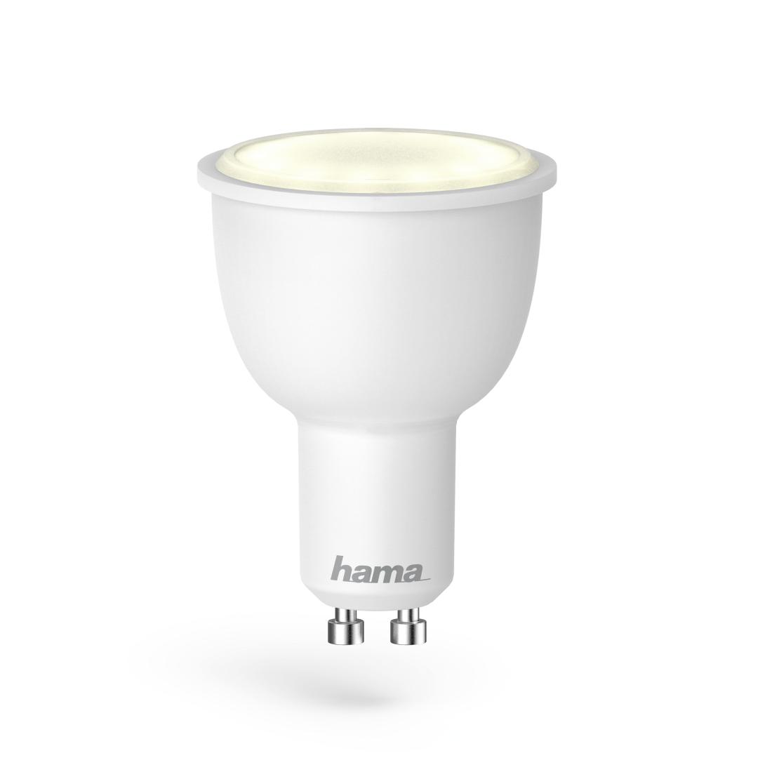 00176532 hama wifi led lampe gu10 4 5w rgb dimmbar hama de. Black Bedroom Furniture Sets. Home Design Ideas