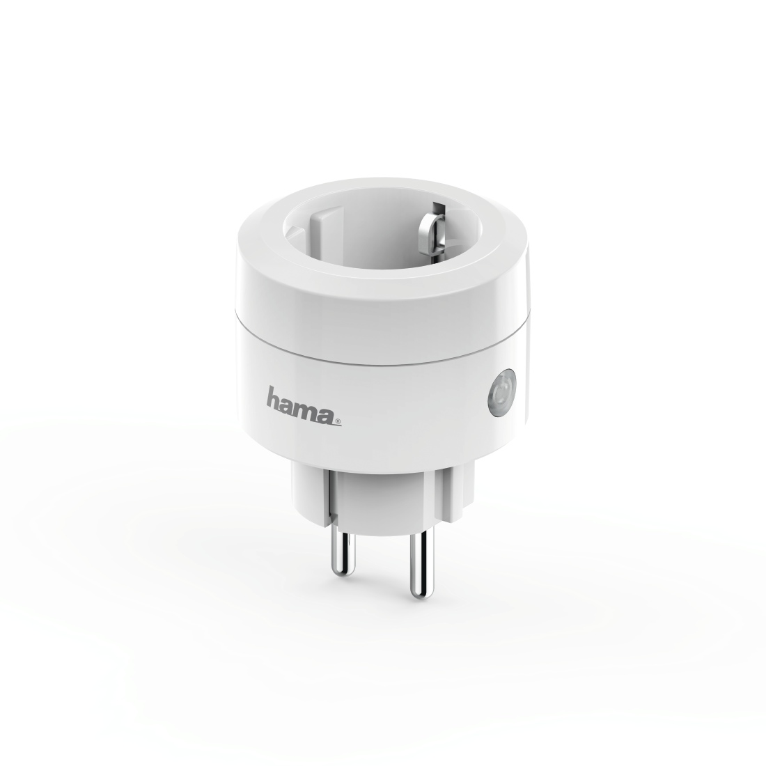 "abx High-Res Image - Hama, ""Basic"" WLAN Socket, without Hub, for Voice and App Control, 2,300 W, 10 A"