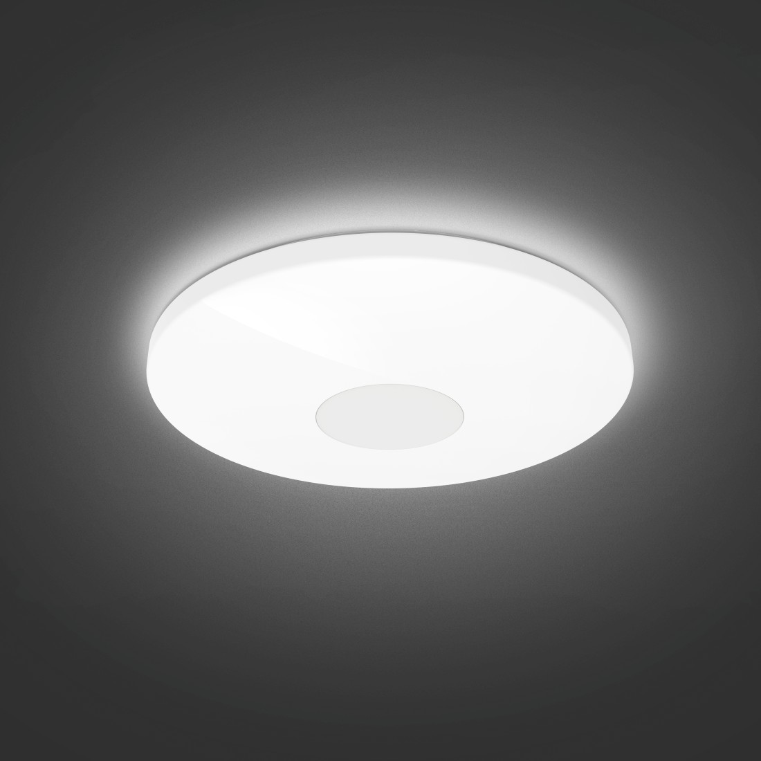 "awx High-Res Appliance - Hama, ""Big"" Smart Home Ceiling Light, without Hub, Voice/App Control, Diam. 50 cm"