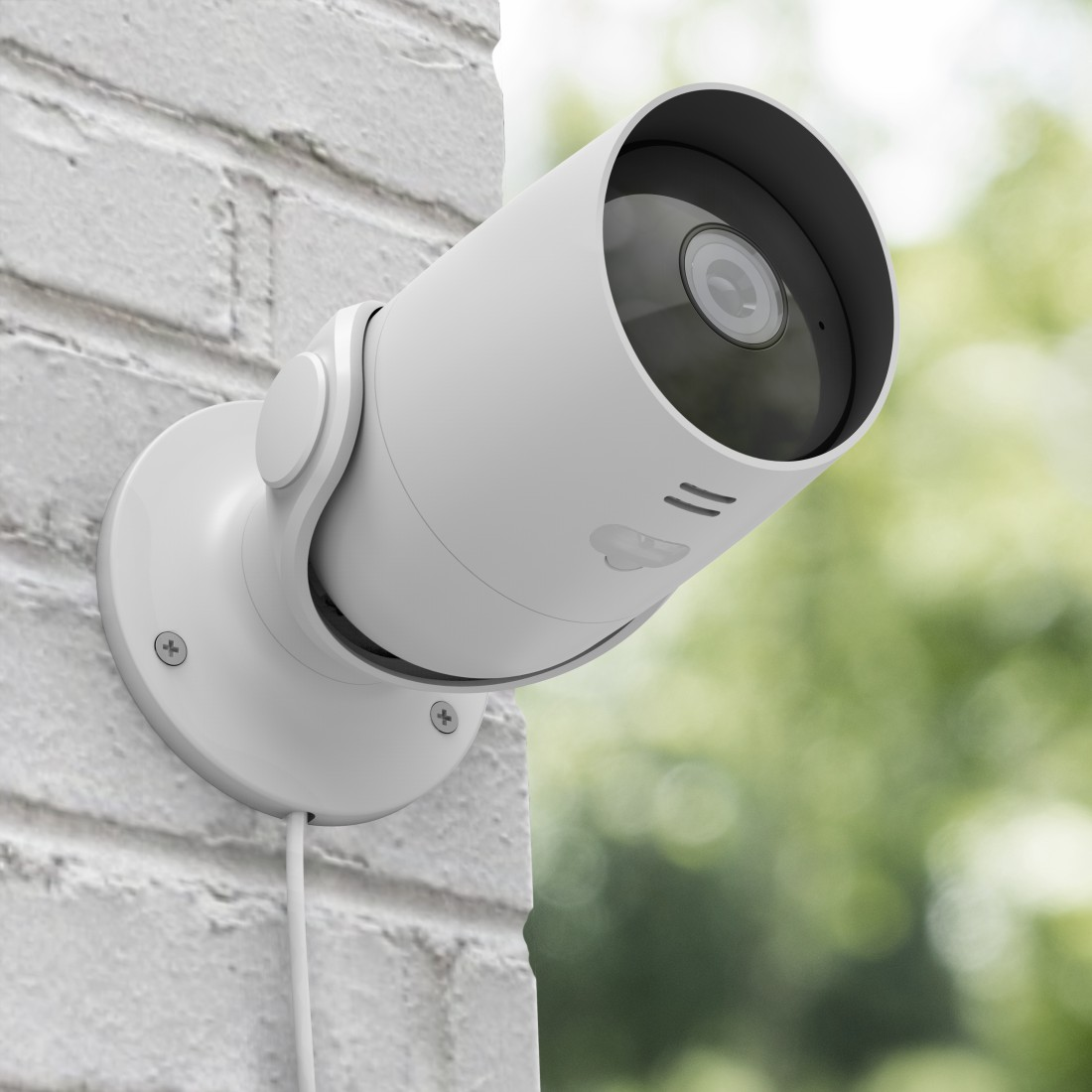 awx High-Res Appliance - Hama, Surveillance Camera, WLAN, for Outdoors, without Hub, Night Vision, 1080p, white