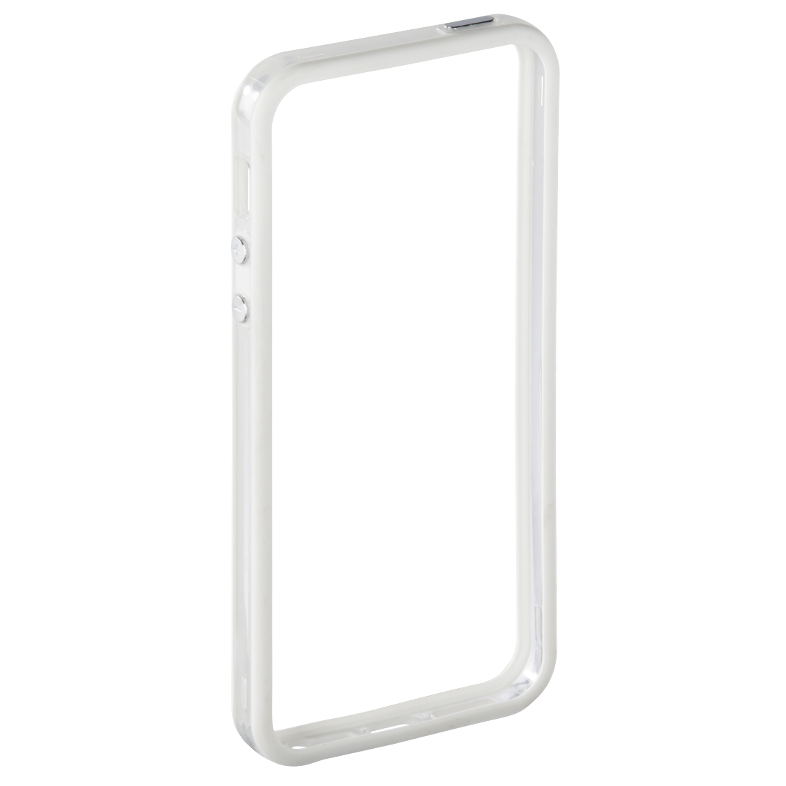 00177453 hama cover edge protector f r apple iphone 5 5s se wei transparent hama de. Black Bedroom Furniture Sets. Home Design Ideas