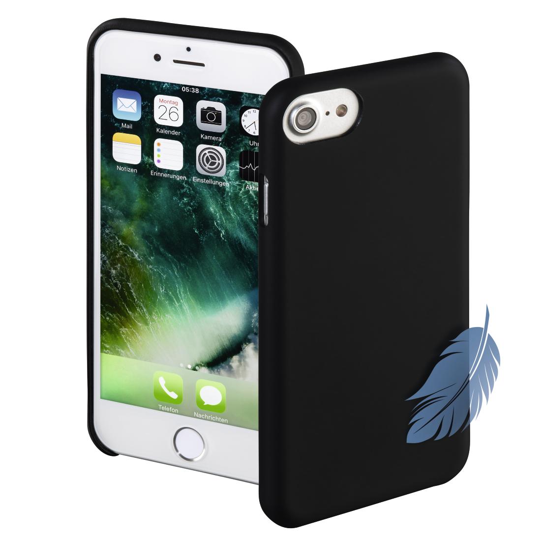 00178080 Hama Cover Silk Für Apple Iphone 78 Schwarz Hama De
