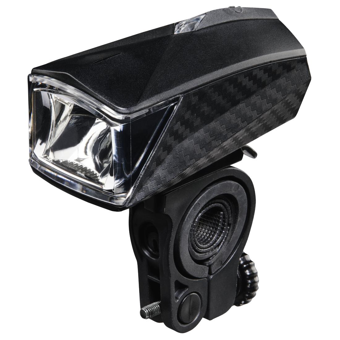 00178106 hama fahrrad frontlicht profi mit 1 led hama de. Black Bedroom Furniture Sets. Home Design Ideas
