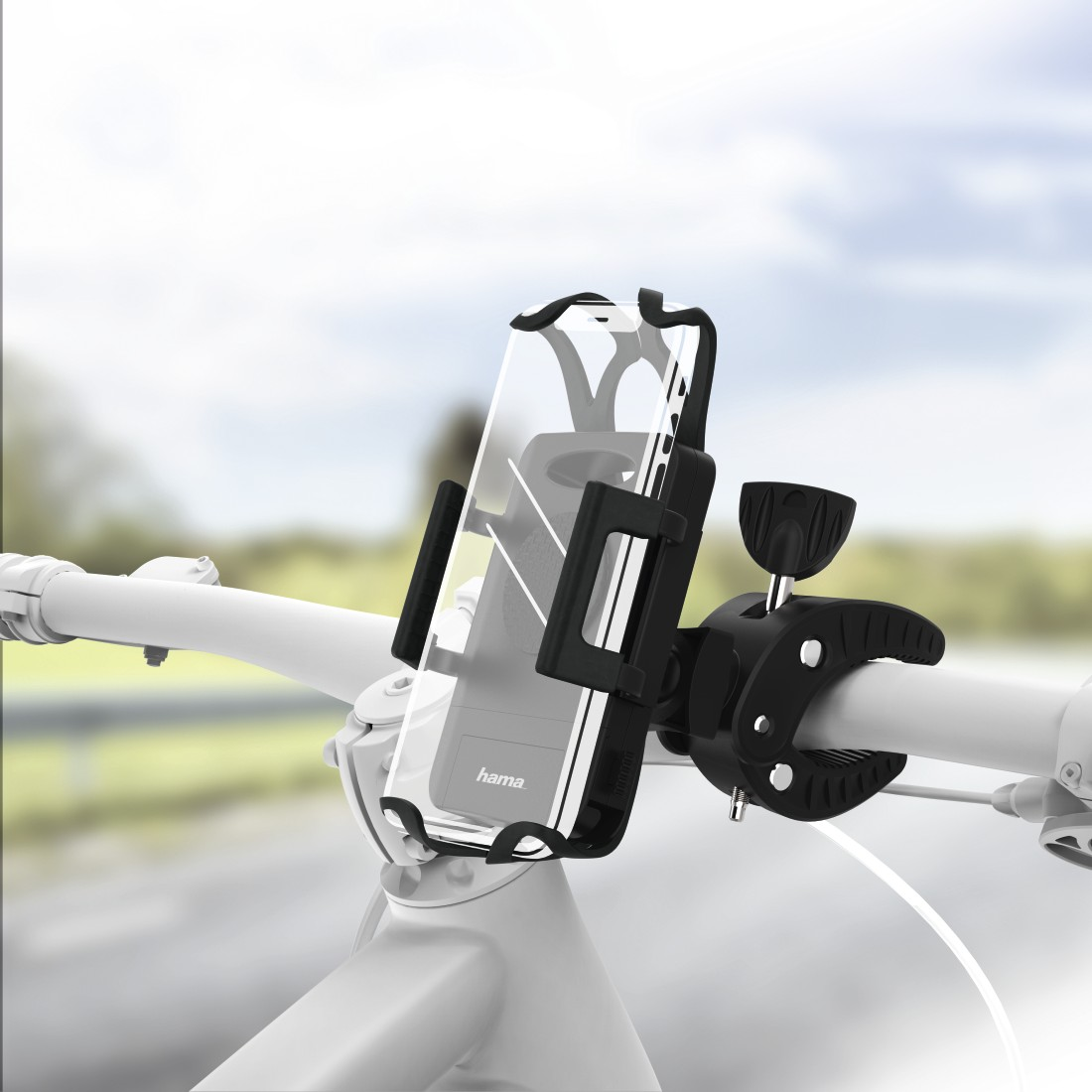 abx High-Res Image - Hama, Universal Smartphone Bike Holder for devices with a width between 5 to 9 cm