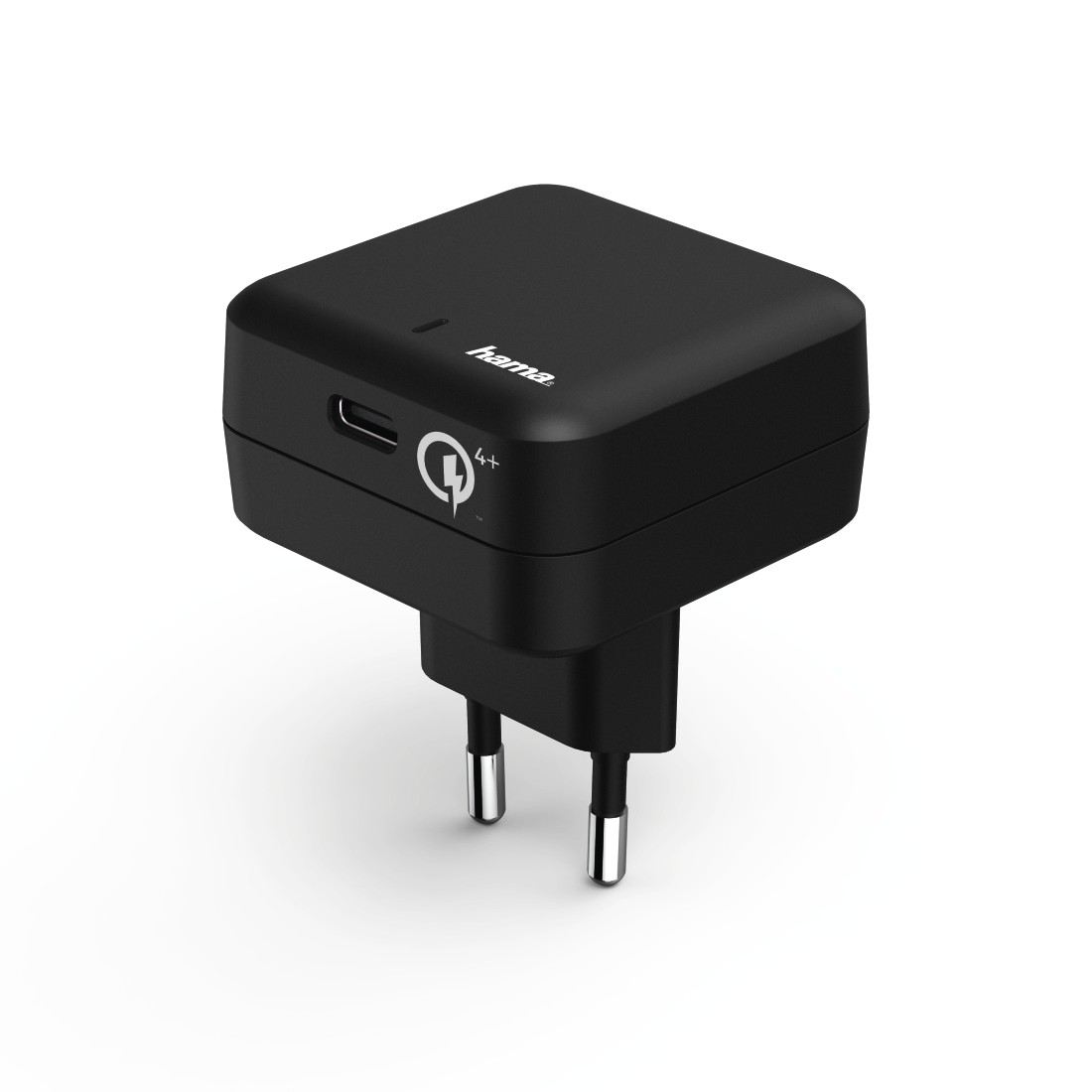 "abx High-Res Image - Hama, ""Qualcomm® Quick Charge™ 4+ / Power Delivery (PD) Charger, black"
