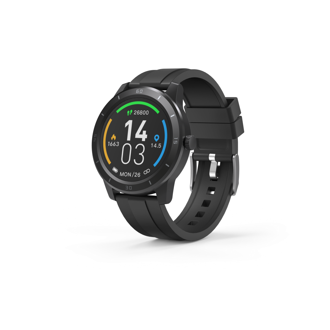 "abx High-Res Image - Hama, ""Fit Watch 6900"" Smartwatch, GPS, Waterproof, Heart Rate, Calories, Sport"