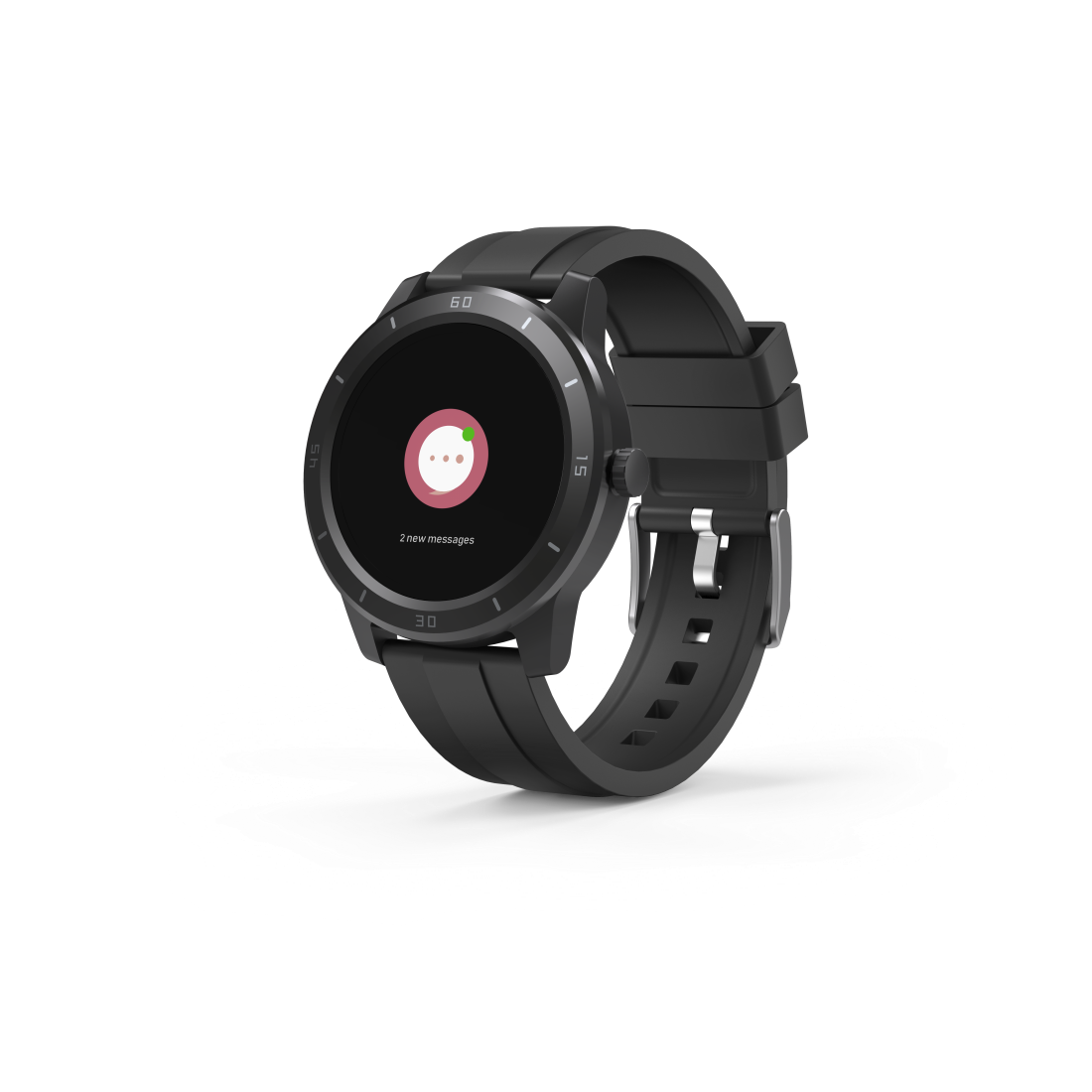 "abx2 High-Res Image 2 - Hama, ""Fit Watch 6900"" Smartwatch, GPS, Waterproof, Heart Rate, Calories, Sport"