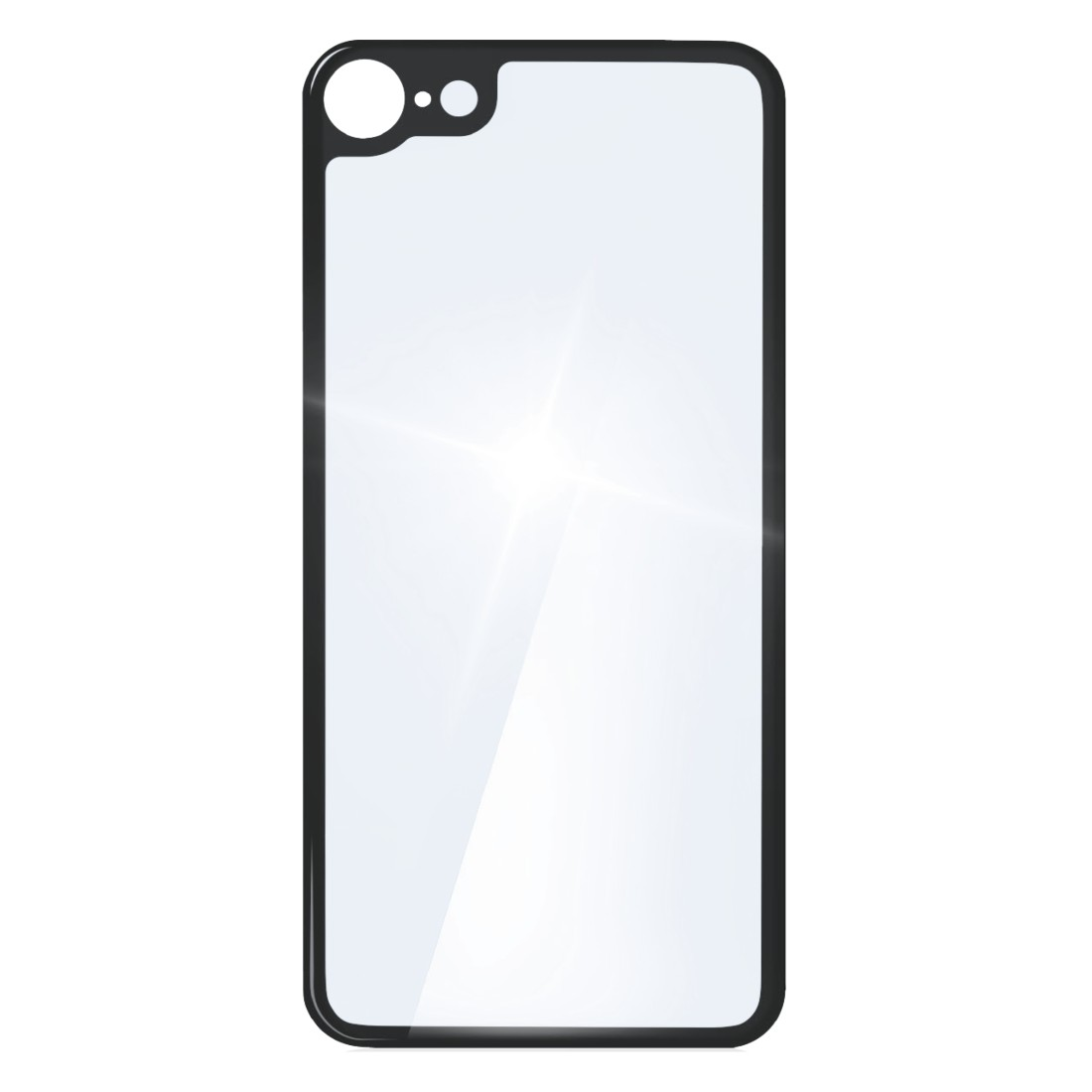 "abx2 High-Res Image 2 - Hama, ""Back Side"" 3D Real Glass Protection for Apple iPhone 8, transparent"