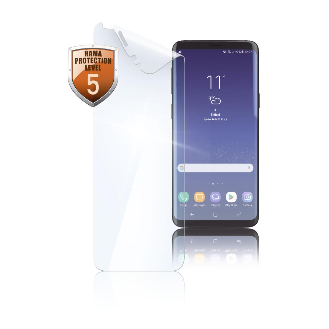 Samsung Galaxy S9 Schutzfolie Anbringen