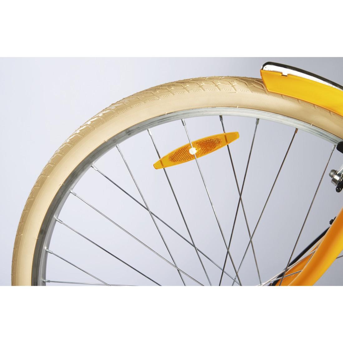 Hama 178125 Fahrrad-Speichenreflektoren 4 Stück